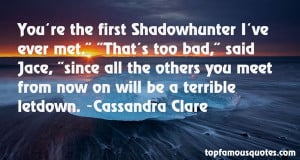 Shadowhunter Quotes
