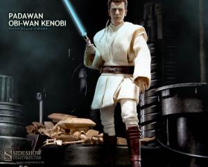 Sideshow Padawan Obi-Wan Kenobi Figure Preview