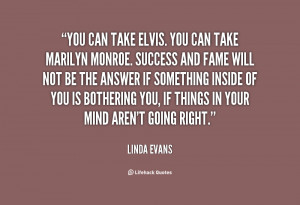 Linda Evans Quote Picture