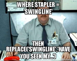 My Stapler Office Space Meme