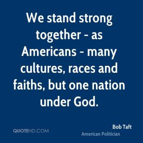 Together We Stand Strong Quotes