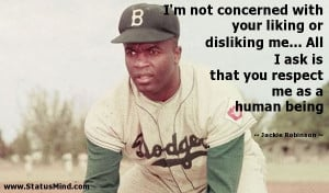 Jackie Robinson Quotes