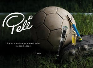Pele Quote Canvas Print