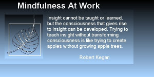 Bodhi Leaf and Kegan Quote