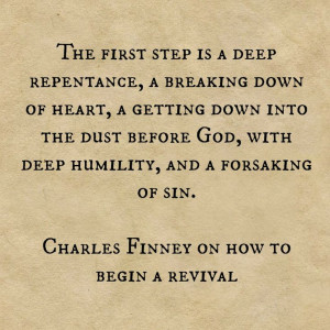 Revival quote / Charles Finney quotes