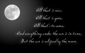 Eclipse - Pink Floyd Song Lyric Quote in Text Image