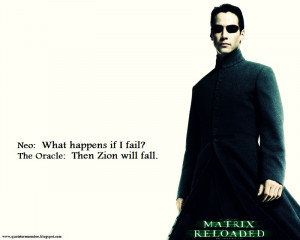 Agent Smith]: And now, here I stand because of you, Mr. Anderson.