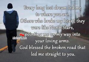 Dream, God, Heart, Like, Lost, Love, Loving, Road, Star