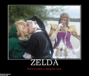 ZELDA - There's trouble in Nintendo Land.