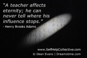 with the teachers in your life, or whether you think great teaching ...
