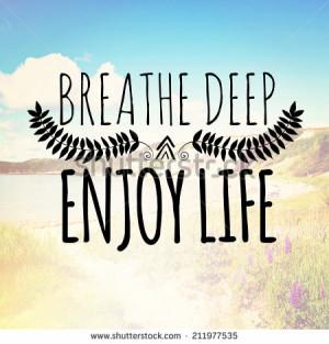 Enjoy Life Stock Photos, Illustrations, and Vector Art