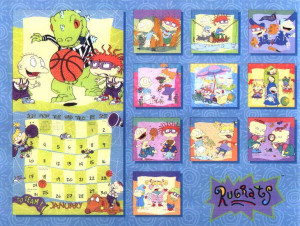 Back Rugrats Calendars Quot...
