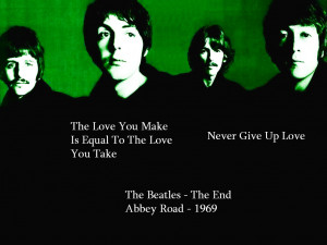 Beatles Quotes About Life Lyric quotes - the beatles by
