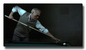 Jacked-Up Trick Shot = Newman earns an Oscar.