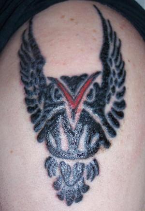 Hustler Gambling Arm Tattoo