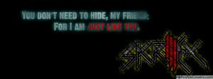 Skrillex Quote Facebook Timeline Cover
