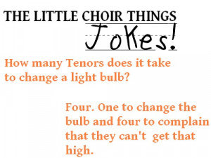 Choir Jokes