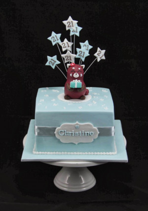 21st Birthday Cakes. Daughters 21 Birthday Quotes. View Original ...
