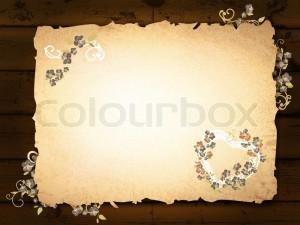 Burnt Paper Template