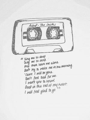 Smith, Perk, The Smith Lyrics Asleep, The Smiths, Songs Lyrics, Lyrics ...