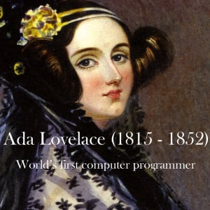 Today, October 14, 2014, is Ada Lovelace Day – an international ...