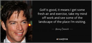 harry connick jr quote