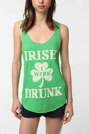 Truly Madly Deeply Irish Drunk Scoop Tank