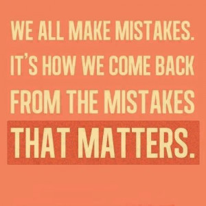We all make mistakes :/