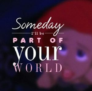 Sinenita Disney Quotes Ariel