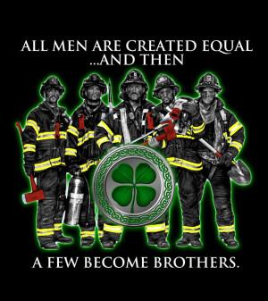 Irish Firefighter brotherhood Image