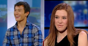 ... Canadian Olympians In The Red Chair, From Patrick Chan To Clara Hughes