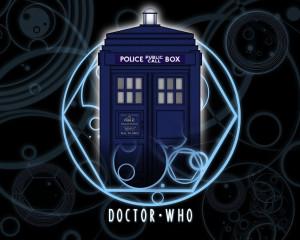 TV Comic style TARDIS by gfoyle