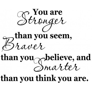 Christopher Robin Quote You are braver than [0218IHTA9LK] | data ...