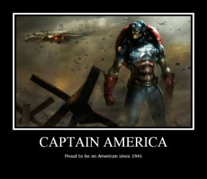 Captain America Motivational by XxLegendBlazerxX