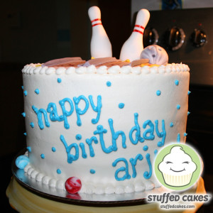 Cool Bowling Alley Cake Pictures picture