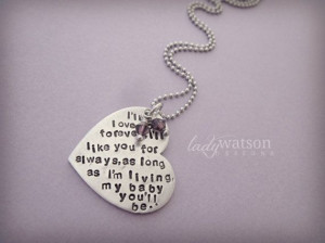 ll Love You Forever Book Quote Heart by LadyWatsonDesigns, $29.00