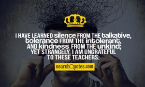 Ungrateful People Sayings Silence hides guilt quotes