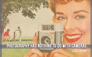 The camera is an instrument that teaches people how to see without a ...