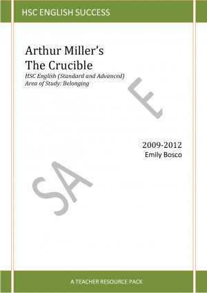 Arthur Miller Crucible Quotes Belonging