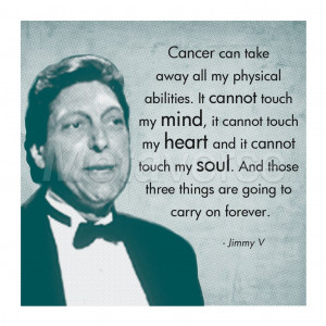 Those Three Things, Jimmy V art print