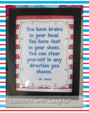 ... switch it up for the week with some of my favorite Dr. Seuss quotes