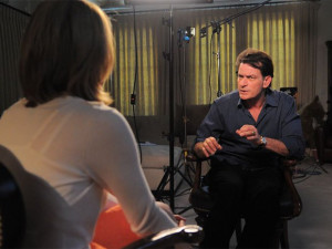 Actor Charlie Sheen talks to ABC News' Andrea Canning. As the quotes ...