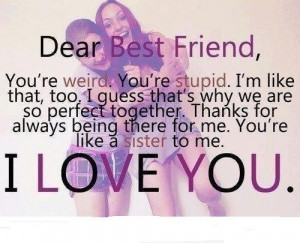 best friend quote see more about best friends friends and love # paris