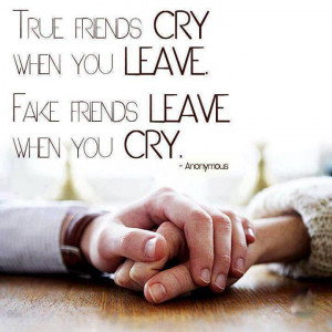 True and Fake friends- Interesting Quote to share on Facebook