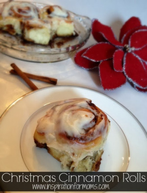 ... must have is my sweet, warm Christmas Morning Cinnamon Rolls