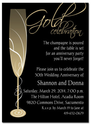 gold-anniversary-invitation