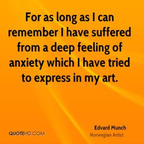 Edvard Munch Death Quotes