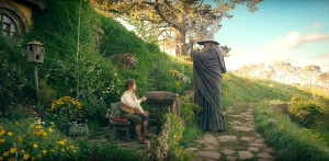 Unexpected adventure: Martin Freeman (left) stars as Bilbo Baggins and ...