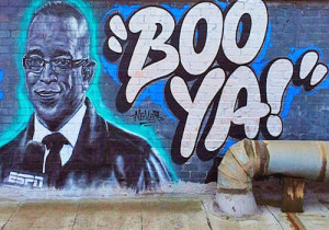 Photos) Sports: LA Graffiti Artists Make Dope Stuart Scott Mural