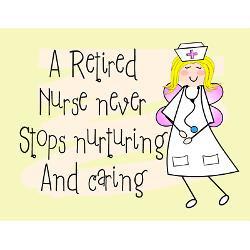retired nurse greeting card jpg height 250 amp width 250 amp ...